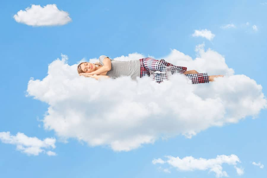 girl-sleeping-cloud