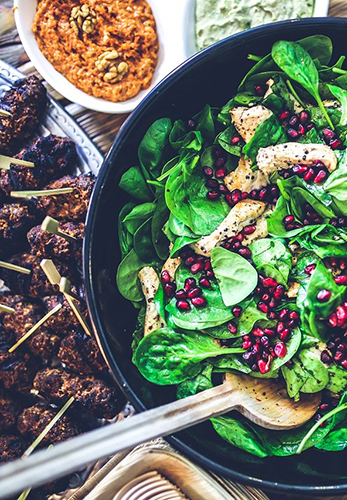 eat good food to fight pathogens nhcaa