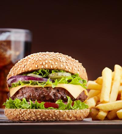 hamburger junk food the nhcaa