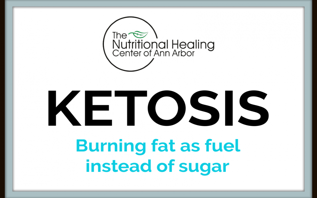 Ketosis burn fat as fuel instead of sugar