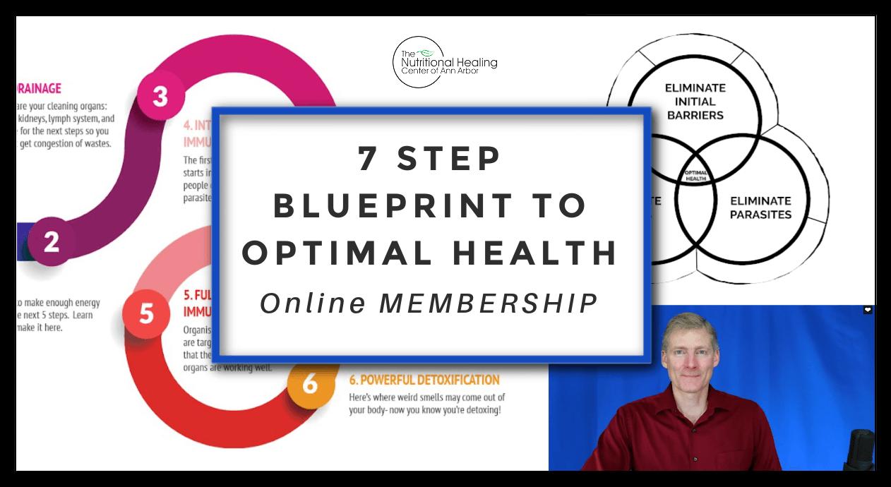 7 STEP BLUEPRINT TO OPTIMAL HEALTH - Online Membership